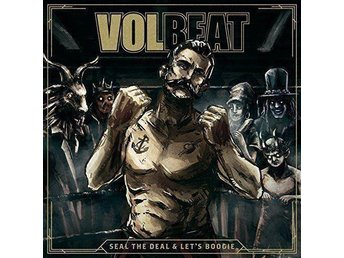 Volbeat - Seal the Deal & Lets Boogie (2LP+CD)(NY)(INPLASTAD) - Trollhättan - Volbeat - Seal the Deal & Let's Boogie (2LP+CD)(NY)(INPLASTAD) - Trollhättan
