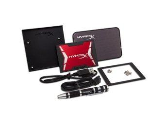 Kingston 120GB HyperX SAVAGE SSD SATA 3 2.5 Bundle Kit - Höganäs - Kingston 120GB HyperX SAVAGE SSD SATA 3 2.5 Bundle Kit - Höganäs