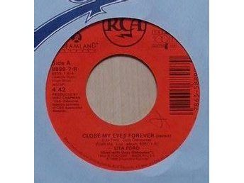Lita Ford title* Close My Eyes Forever (Remix)* Heavy Metal US 7""