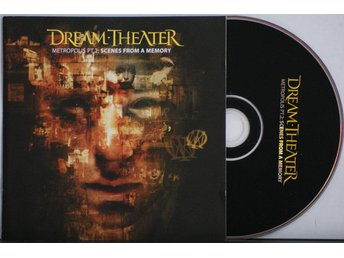 Dream Theater – Metropolis PT 2-Scenes From A Memory – CD