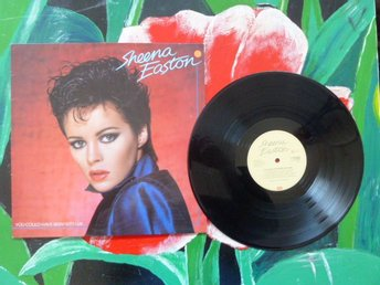 SHEENA EASTON, YOU COULD HAVE BEEN WITH ME, A LITTLE TENDERNESS, 1981, LP-SKIVA