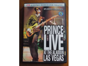 PRINCE - LIVE AT THE ALADDIN LAS VEGAS - DVD