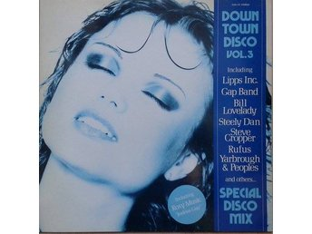 Various title* Down Town Disco Vol. 3* Euro, Disco LP Comp. Denmark