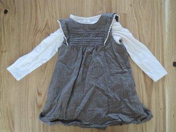 NY retro klänning NY tröja HM str. 86 - Kungsbacka - NY retro klänning NY tröja HM str. 86 - Kungsbacka