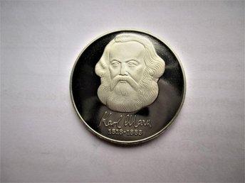 DDR 20 mark, 1983 PROOF !! Karl Marx. - Ninove - DDR 20 mark, 1983 PROOF !! Karl Marx. - Ninove