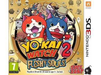 Yo-Kai Watch 2 Fleshy Souls (Bergsala UK4)