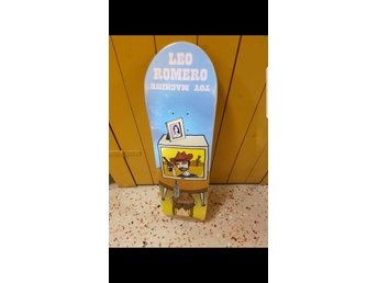 Skateboard Toy Machine Leo Romero