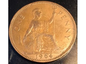 1964 StorBritain 1 Penny Queen  Elizabeth