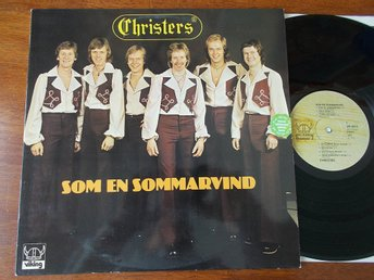 CHRISTERS - Som en sommarvind, LP Viking 1976 Harpo Moviestar cover