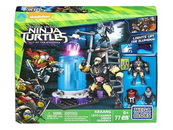 Teenage Mutant Ninja Turtles Mega Bloks Construction Set Kraang Cryo Chamber