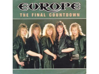 "Europe (2) - The Final Countdown (7"", Single)"