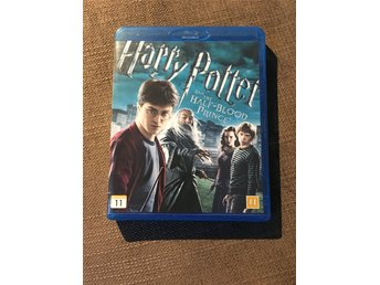 Harry Potter and the Half-Blood Prince - Blu-Ray - fint skick, fynd!