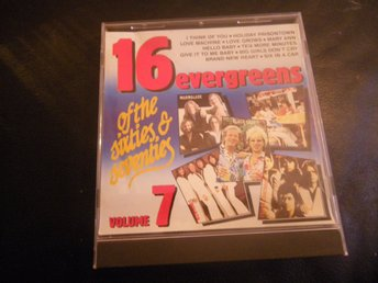 16 evergreens of sixties & seventies vol 7 cd