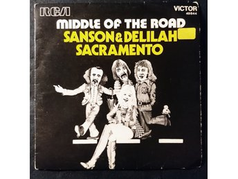 "MIDDLE OF THE ROAD  ""Samson and Delilah""  1971  single 7""  France"
