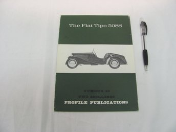 The FIAT Tipo 508S (#23 Profile Publications)