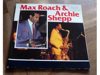 MAX ROACH & ARCHIE SHEPP Giants of Jazz/Blues 2 LP Afrika 76