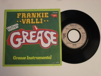 "FRANKE VALLI - GREASE (RSO 7"" 1978 Tyskland)"