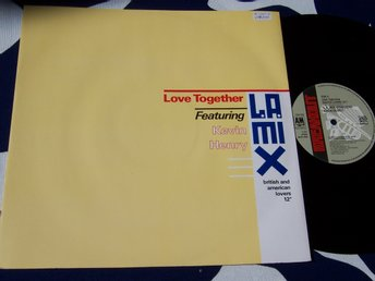 "LA MIX feat. KEVIN HENRY - LOVE TOGETHER 12"" 1989"