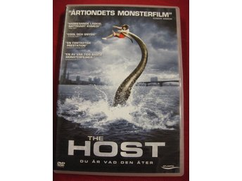 THE HOST  -  DU ÄR VAD DEN ÄTER - MONSTERFILM - DVD