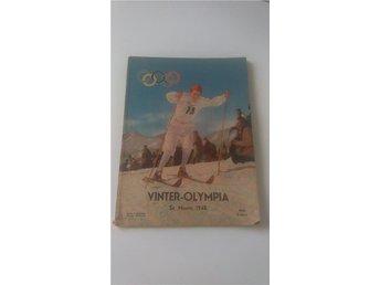 VINTER-OLYMPIA ST. MORITZ 1948 De 5:e olympiska vinterspelen - Göteborg - VINTER-OLYMPIA ST. MORITZ 1948 De 5:e olympiska vinterspelen - Göteborg