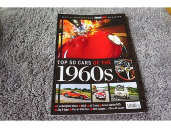 CLASSIC CARS MAGAZINE,TOP 50 CARS OF THE 1960S,TOP 50 CARS OF THE SIXTIES - Upplands Väsby - CLASSIC CARS MAGAZINE,TOP 50 CARS OF THE 1960S,TOP 50 CARS OF THE SIXTIES - Upplands Väsby