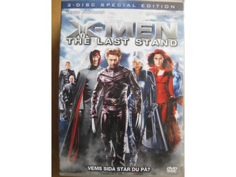 DVD film - X-men The last stand 2disc special edition svensk text