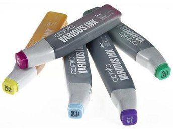 COPIC VARIOUS INK 5 st refiller till Copic Sketch mfl pennor, 5 helt nya