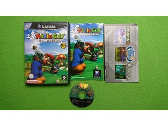 Mario Golf Toadstool Tour KOMPLETT Gamecube Nintendo Game Cube