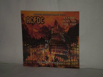 AC DC  -  A Long Way to the Top     FLAMING VINYL !!!     180G HEAVYWEIGHT - NY