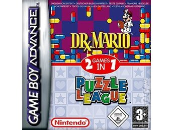 Dr Mario & Puzzle League - Gameboy Advance