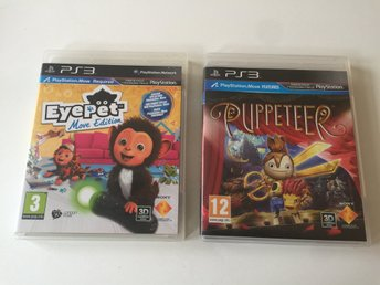 Puppeteer & Eyepet (Move spel)