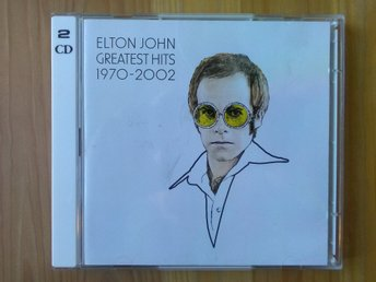 Elton John - Greatest hits  1970-2002       2-CD