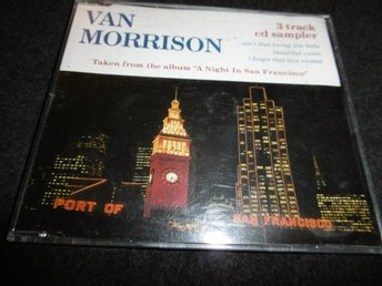 Van Morrison - A night in San...- 3 spårs Promo CD-Maxi-1994