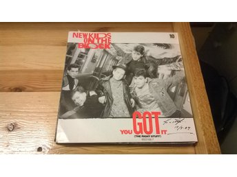 New Kids On The Block - You Got It (The Right Stuff), EP