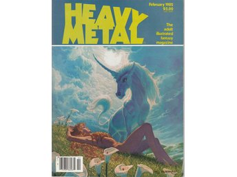 HEAVY METAL ADULT FANTASY MAGAZINE FEBRUARY 1982
