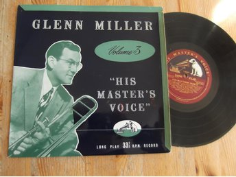 "10"" LP  Glenn Miller - Volume 3"