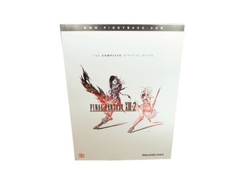 Final Fantasy XIII-2: The Complete Official Guide (Engelsk)