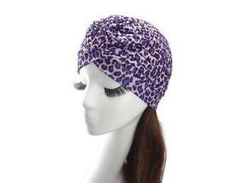 Tuff turban, mössa, Hijab, chemo underscarf leopard lila syrén - Upplands Väsby - Tuff turban, mössa, Hijab, chemo underscarf leopard lila syrén - Upplands Väsby