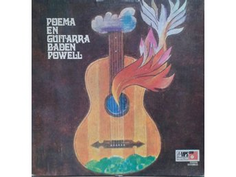 Baden Powell title* Poema On Guitar* Latin Jazz, Samba LP Argentina
