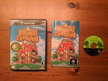 Welcome to Animal Crossing - Nintendo GameCube Spel USA