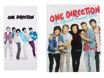 1D ONE DIRECTION The Official Annual 2015 bilderbok + badlakan