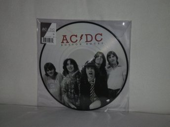AC DC  -  Boston Rock        PICTURE-DISC  !!!            180G HEAVYWEIGHT - NY