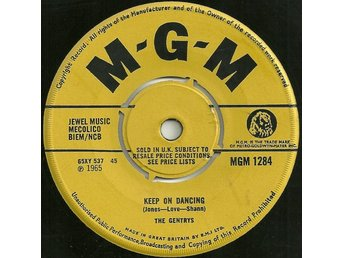 "The Gentrys - Keep On Dancing / Make Up Your Mind (7"", Single)"