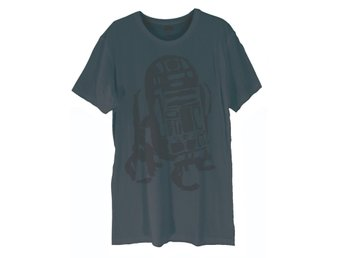 Star Wars R2-D2 watermark  T-Shirt Large