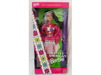 Samlarbarbie Native American Barbie Matell 1994 Third Edition NRFB
