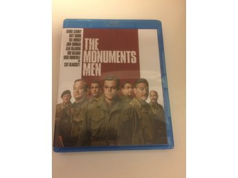 The monuments men. Svensksåld