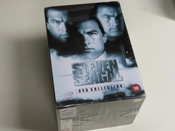 STEVEN SEAGAL 8-FILM DVD COLLECTION (DVD) Inplastad