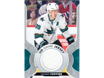 2017-18 Upper Deck GJ-LC UD Game Jersey Logan Couture San Jose Sharks