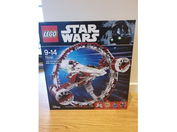 Nytt Oöppnat LEGO Star Wars 75191 Jedi Starfighter With Hyperdrive