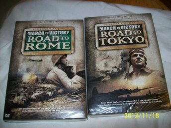 2 ST BOXAR - Road to Rome (5 disc) & Road to Tokyo (5 disc)